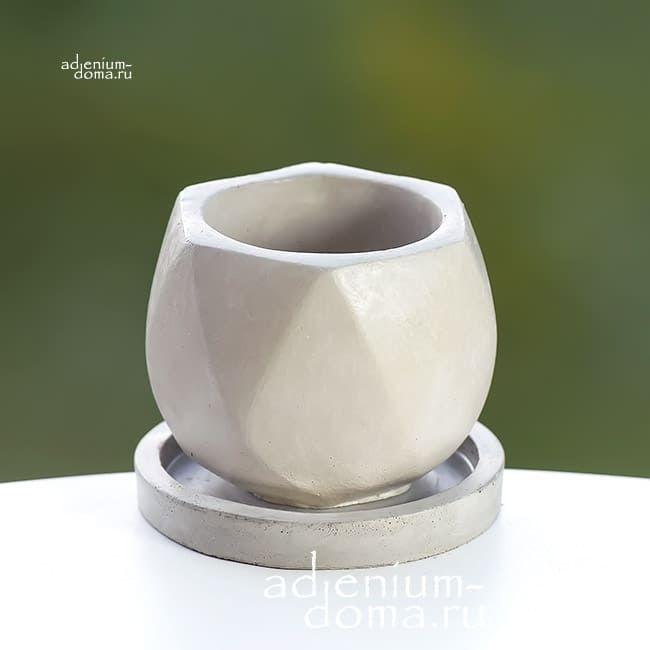 Горшок из бетона ТЮЛЬПАН 1