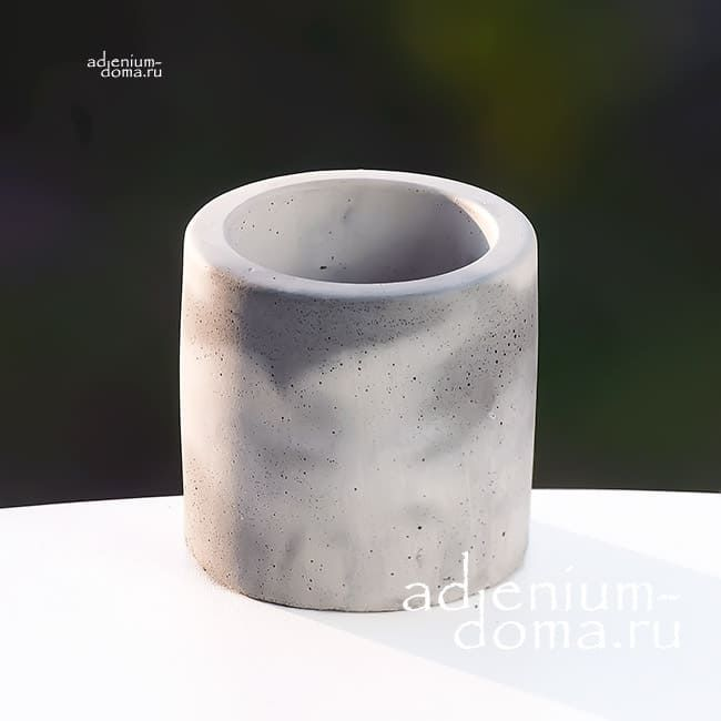 Горшок из бетона ЦИЛИНДР S 2