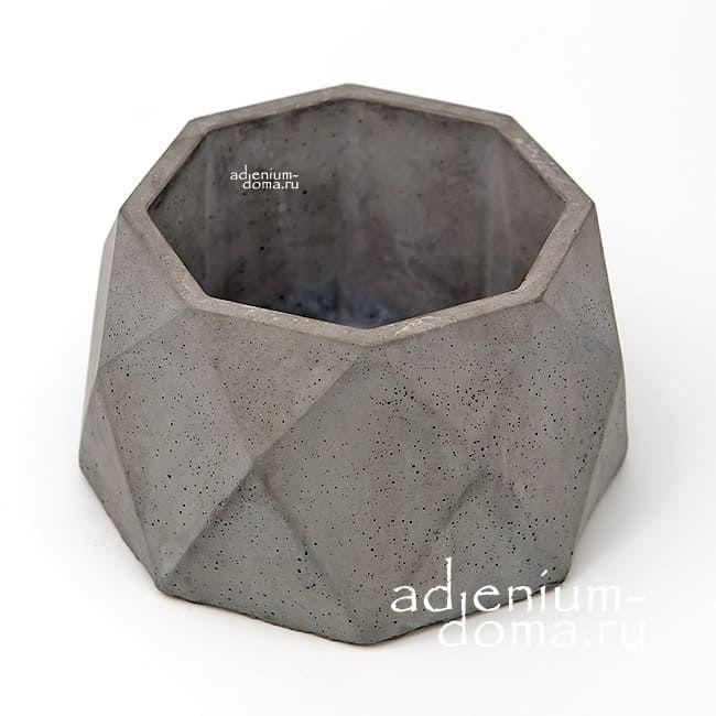 Горшок бетонный КРИСТАЛЛ L 3