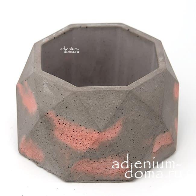 Горшок из бетона КРИСТАЛЛ L 2