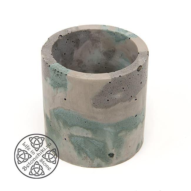Горшок из бетона ЦИЛИНДР M 2