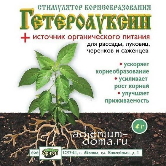 Стимулятор ГЕТЕРОАУКСИН ОРТОН 1